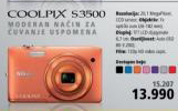 Fotoaparat Coolpix S3500
