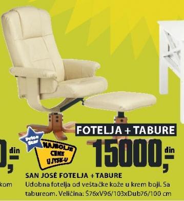 Fotelja SAN JOSE