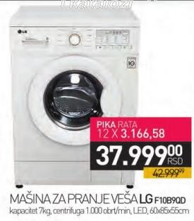 Mašina za pranje veša F10b9qd