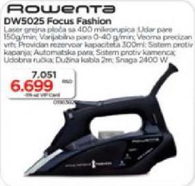 Pegla Rowenta DW 5025