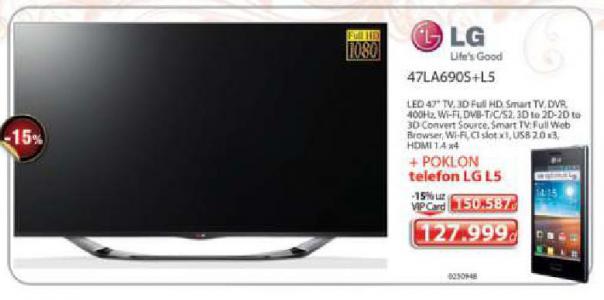 LED LCD Televizor 47LA690S