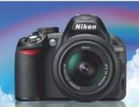 Fotoaparat D3100 + Nikor objektiv 18-55VR