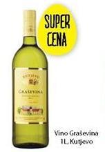 Belo vino Graševina Kutjevo po super ceni!
