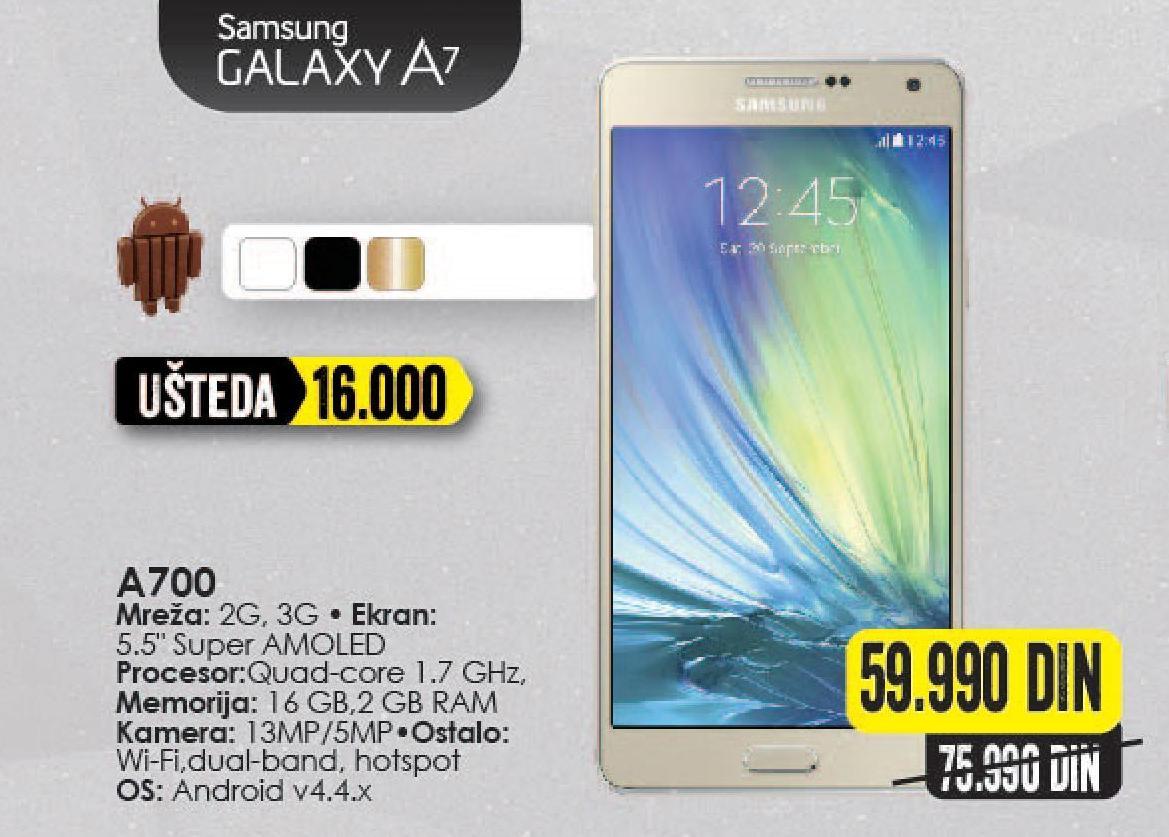 Mobilni telefon Galaxy A7 A700