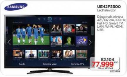 Led Tv UE42F5500
