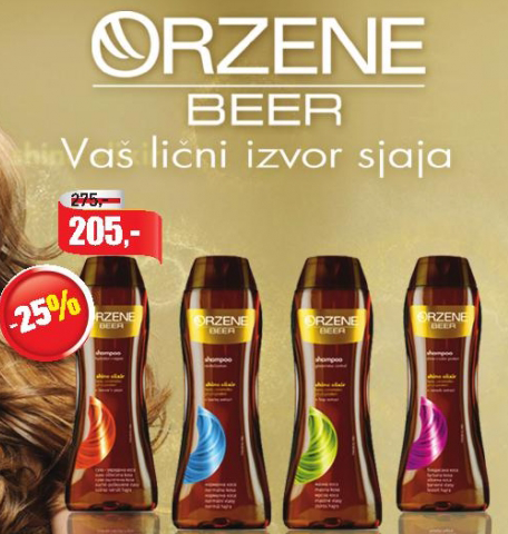 Šampon za kosu Orzene Beer