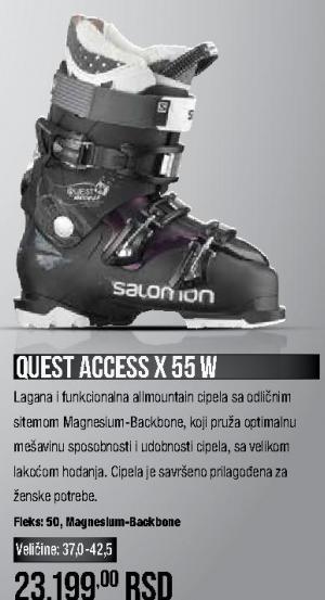 Ski čizme Quest Access X 55 W, Salomon