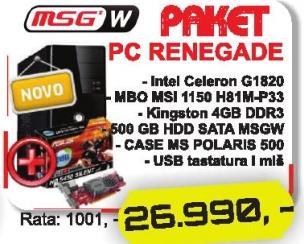 Računar Renegade Msgw