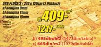 OSB ploča 3, 9mm