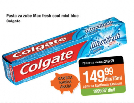 Pasta za zube Max fresh cool mint blue