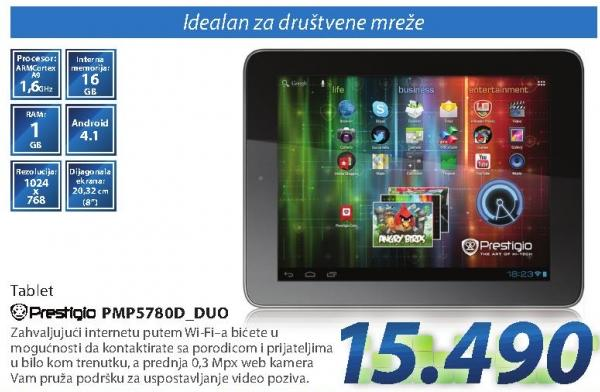 Tablet Pmp5789d Duo