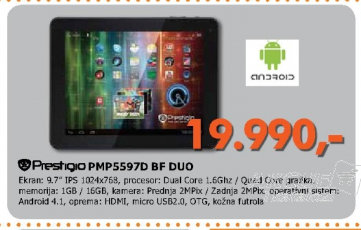Tablet Multipad Pmp5597D BF_Duo