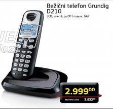 Bežični telefon Grunding D210