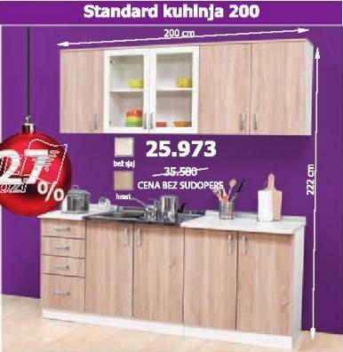 Kuhinja Standard 200