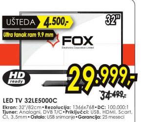 Televizor LED LCD 32LE5000C