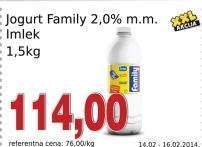 Jogurt 2% mm