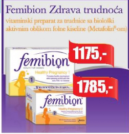 Vitaminski napitak za trudnice Femibion