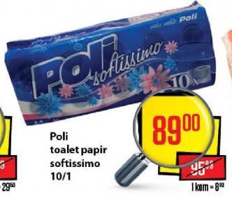 Toalet papir Softissimo