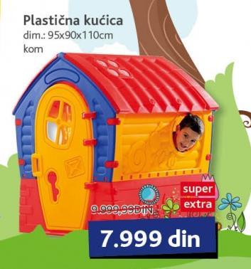 Plastična kućica