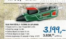 GluePen - Akumulatorski pištolj za lepljenje