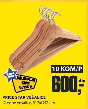 Drvene vešalice