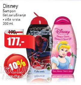 Disney šampon