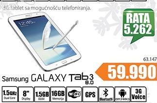 Tablet Galaxy Tab 3 8.0