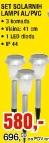 Set solarnih lampi AL/PVC