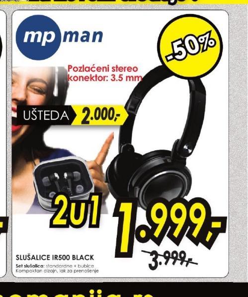 Slušalice IR500