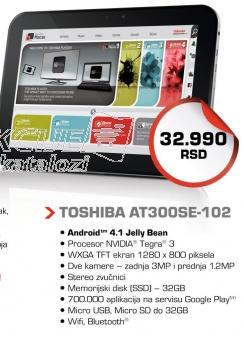 Tablet AT300SE-102 32GB - PDA0DE-00300PY4