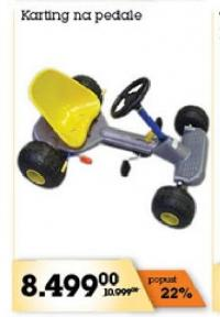 Igračka Karting na pedale