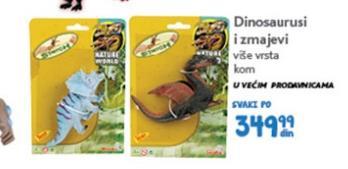 Igračka dinosaurusi i zmajevi