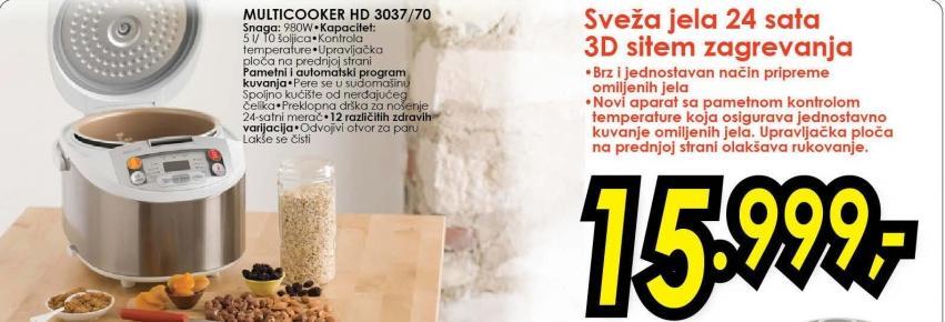 Multicooker Hd 3037/70