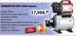 Hidroforna pumpa HW 3500 Classic