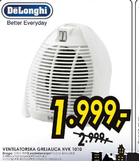 Ventilatorska grejalica HVK 1010