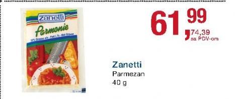 Parmezan sir