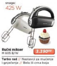 Ručni mikser H 605 R/w
