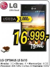 Mobilni telefon Optimus L5 E610