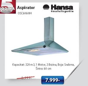 Aspirator Osc6060IH