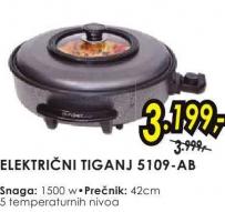 Električni tiganj 5109-AB