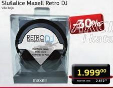 Slušalice Retro DJ