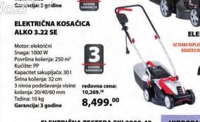 ELEKTRIČNA KOSAČICA 3.22 SE