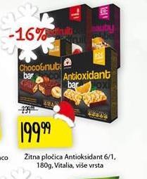 Musli bar antioksidant
