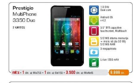 Mobilni telefon 3350 Duo