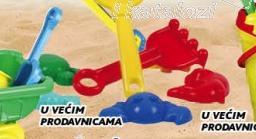 Igračka pribor za pesak