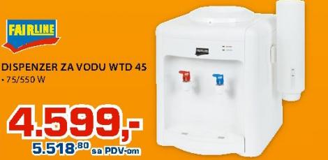 Dispanzer za vodu WTD45