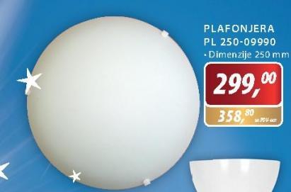 Plafonjera PL 250-09990