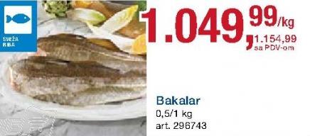 Riba bakalar