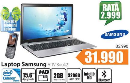 Laptop  ATIV Book2 NP270E5V-K05HS