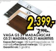 Vaga GS 21 MADAGASCAR, MADEIRA, MAURITIUS